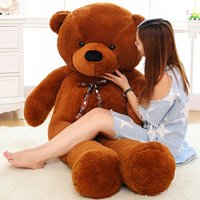 Wholesale 2015 new Giant cm life size teddy bear High quality children soft plush toy Girl birthday gift Baby dolls for women big peluches