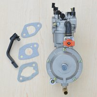 Wholesale carburetor for gasoline generator LPG NG propane gasoline hybrid KW W F