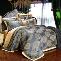 Cheap 3D Bedding Sets Pillow Cases Bed Linen BedSheet Jacquard Bedding Supplies Fashion King Bed Queen Size Eurore
