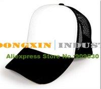 trucker mesh foam cap - Cheap trucker foam front mesh cap for sublimation advertising caps promotion caps gimme cap