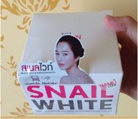 Wholesale 2015 Thailand snail white face cream Whitening Moisturizing delicate skin care cream by EMS