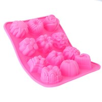 fondant flowers - New D Flower Pattern Cooking Tools for Chocolate Fondant Gumpaste Cake Compact Vivid Silicone Mold dandys