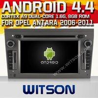 WITSON sistema operativo Android 4.4 capacitivos gps dvd coche de la pantalla para OPEL ASTRA ANTARA VECTRA CORSA MERIVA VIVARO ZAFIRA, construido en 8 GB de Flash