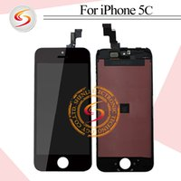 Wholesale No dead pixel spot For iPhone C LCD high quality screen replacement high quality display Grade A