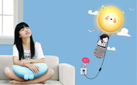Wholesale Wall hanging lamp wall lamp fashion creative personality cartoon scene wallpaper lamp suitable for the bedroom study children s room