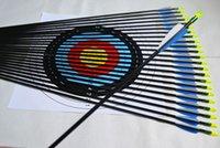 fletching - 6PCS quot mm Fiberglass Plastic Fletching Archery Arrows Target Practice Recurve Hunting Sport Glass Fiber Arrow