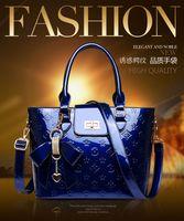 Wholesale new fashion bag Light Patent leather bags European designer Handbags women famous brand luxury bag Classic Shoulder Bags totes bags purse