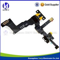 Wholesale Proximity Light Sensor with Front Camera Flex Cable Ribbon for iPhone S