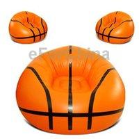 Wholesale Inflatable Basketball Sofa Size cm inch Orange