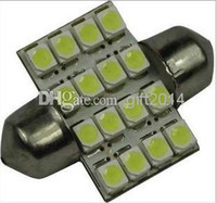 car lights - SMD LED smd led Car Dome Festoon Interior Light Bulbs mm mm mm mm Auto Car Festoon LED Roof Car Light