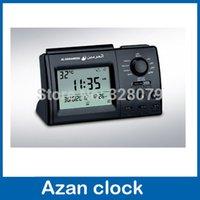 azan products - Automatic Islamic product azan table clock cities azan time Hijri Fajr alarm islamic muslim products