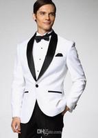 Wholesale High Quality Customized Bridegroom Suit Light Grey Peak Black Lapel Groom Tuxedos Best man Groomsman Men Wedding Suits