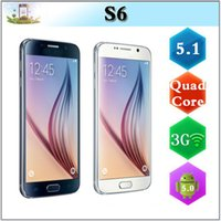 Wholesale S6 MTK6582 Quad Core Android Lollipop Inch show GB RAM GB MTK6592 Octa Core MP Camera G Metal Frame