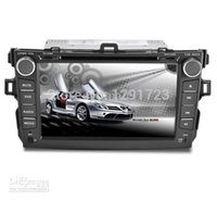 dual cd player - GPS Navigation For New Toyota Corolla Special For Din Car DVD Player with Aux Ipod Support BT Phonbook Car Dual CD Head Unit Car DVD Video