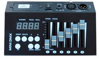 Wholesale DMX controller console CH mini DMX console programmable stage lighting DJ lighting controller V battery V DC powered