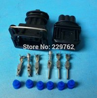 automobile commercials - Set Fuel Injector Plug Car Waterproof P Pin way Electrical Wire Connector Plug automobile Connectors