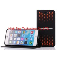 Cheap For iPhone 6 4.7'' 5.5 inch Stand Wallet Style PU Leather for note3 note4 polka dot gradual change stand wallet case for iphone 5 6