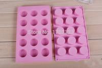 Wholesale lattice round silicone cake mold cylinder soap moulds cake pudding molds GT342