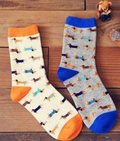 Wholesale High Quality Dogs Cotton Fashion Man Woman Socks