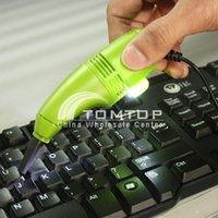Wholesale Mini USB Keyboard Vacuum Cleaner for PC Laptop Computer Dust Collector Accessories Set