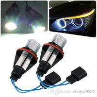 Wholesale 2 Sets White Angel Eyes LED Halo Lights for BMW E39 E65 E87