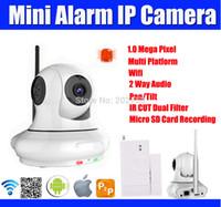 barcode security system - Alarm Wifi IP camera P HD Home Security System Mini Wireless IP Camera Wireless Sensor Detector Pan Tilt Plug Play