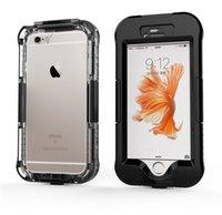 Для iPhone 6 6s Супер водонепроницаемый футляр ПЭТ + PC Условный Upgrade расширенная версия Новая конструкция Ударопрочный Heavy Duty телефон Обложка