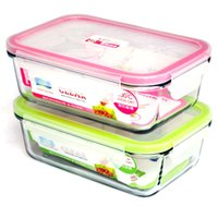 food storage container - TOP heat resistant japanese lunch box glass bento box food storage container