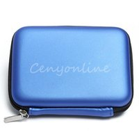 Wholesale 2015 Brand New Blue Hard Carry Case Cover Pouch for USB External WD HDD Hard Disk Drive Protect Protector Bag Enclosure order lt no trac