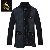 brand winter jacket for men - New arrival Brand Men Winter Jacket Coat Mens Fashion Pea Coat Male Cashmere Overcoat Long Jacket Coat Wool Jacket For Men C038