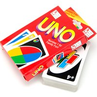 Wholesale UNO g Poker Card Standard Edition Family Fun Entermainment Board Game Kids Funny Puzzle Game g