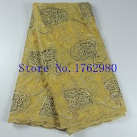 Wholesale 2015 Hot sale Indian french lace new design african french lace fabric high quality