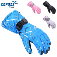 Wholesale Brand Men Women Skiing TPU Waterproof Bag Ski Gloves Motorcycle Winter Snowmobile Snowboard Gloves Warm Ride Thick Gloves