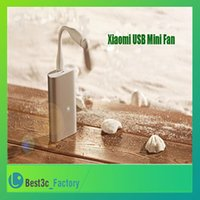 usb gadget - 2015 For Xiaomi USB Fan USB Cooler Flexible for Laptop Computer PC Computer Power Bank Cooling USB Gadgets with Heat Emission Hole