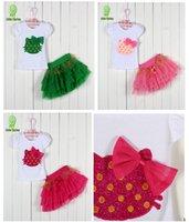 Wholesale 2015 New lace Korean girls dresses girl tutu dress layered dress children kitty bow kids cotton lace dress baby girl dress set