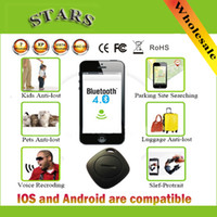 Wholesale Wireless Self Portrait Anti lost iTag alarm Theft Device for bluetooth Smartphone Support iPhone iPad Android