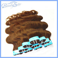 beauty media - Health Beauty Hair Styling New Arrival Grade7A Brazilian Human Hair Body Wave Color Medium Brown quot quot No Shedding No Tangles Human Hair