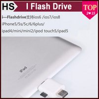 Wholesale Mini I Flash Drive Dual Card Reader Between iDevices and Mac PC for iPhone iPod iPad Durable i Flash Drive Portable Best Quality Reader