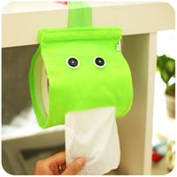 Wholesale Creative cartoon cute hanging towel sets containing toilet paper towel box toilet roll toilet tissue roll paper sleeve