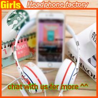 limited edition - 2015 Hello Kitys headphones limited edition NEWest Version headsets On ear Headphones for iPhone iPod ipad To all coutries