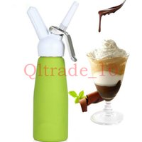 Wholesale 100PCS HHA412 HOT ml Dispenser Whip Dessert Coffee Fresh Cream Butter Dispenser Whipper Foam Maker Metal