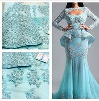 Cheap Dresses with sleeves Best Mermaid Evening Dresses