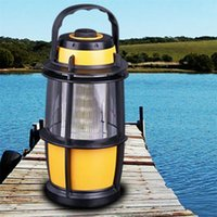 Wholesale 1x LED Camping Light Portable Tent Night Light Lamp Lantern Outdoor Bright Emergency Portable Lantern solar