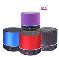 Wholesale S11 Speaker mini wireless speaker fashion portable bluetooth speaker Hi Fi Player Bluetooth speaker wireless sound box