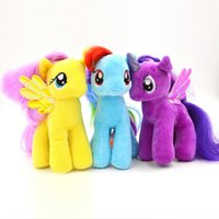 horse doll - New Cute quot My Little Pony Horse Rainbow Dash Stuffed Plush Soft Teddy Doll Toy