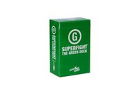 Wholesale 2015 SUPERFIGHT Ultimate Expansion Set Red Green Blue Purple and Orange Deck Expansions Superfight Card Game