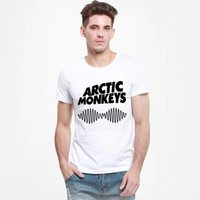 album monkey - Cheap Mens Indie Rock And Roll Band Concert Album Tshirt Arctic Monkeys Sound Wave T Shirt Rock T shirt Roll T Shirt