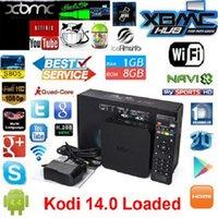 Wholesale Quad Core MXQ Android Media Player Smart TV Box Amlogic S805 MXQ IPTV TV Box With XBMC KODI Fully Loaded Update MX TV Box