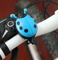 Wholesale Colorful Bicycle Bell Kid Funny Ladybug Style Cycling Bicycle Bike Ride Ring Bell Horn
