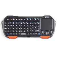 Wholesale Wireless Bluetooth Keyboard with Mouse Touchpad for Windows Android iOS keyboard mouse touchpad Black